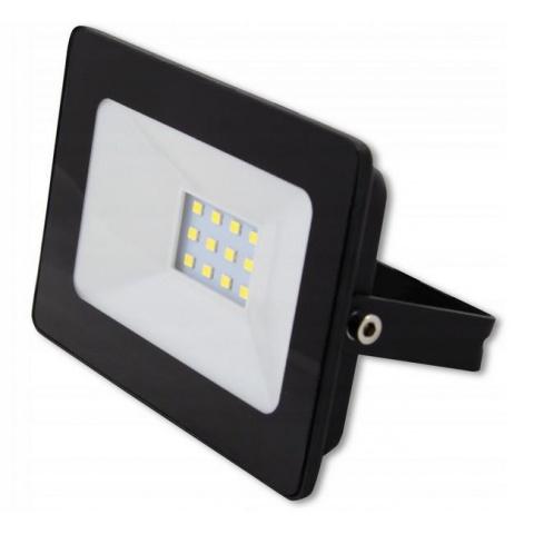 LED reflektor 10W Vega Neutrálna biela - Black