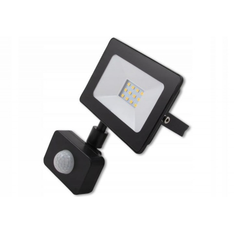 LED reflektor Vega 10W Neutrálna biela + senzor pohybu