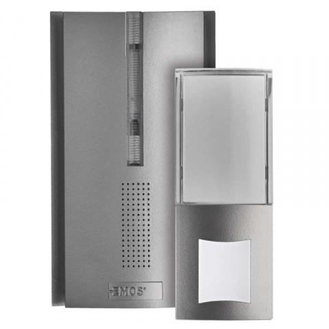 Domový bezdrôtový zvonček a predlžovač signálu P5763 batérie