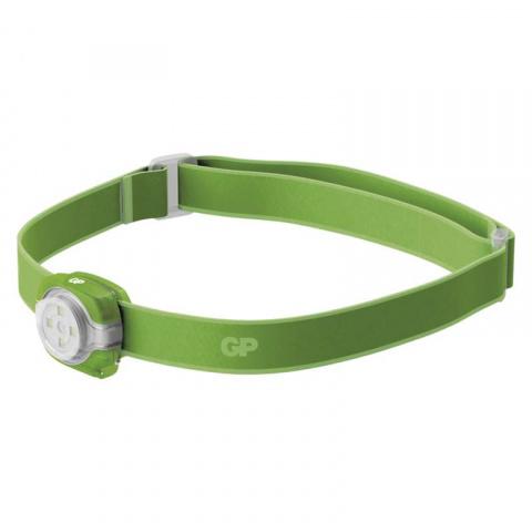 LED Čelovka GP CH31 zelená