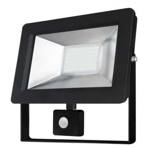 LED reflektor 30W so senzorom pohybu - Studená biela