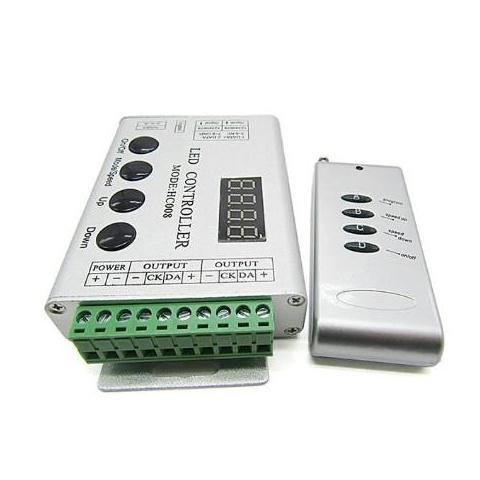 Digital RGB kontrolér RF IC WS2811 4tlač. 72W do 2048 pixelov