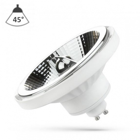 LED žiarovka 15W Teplá biela 230V 45° GU10