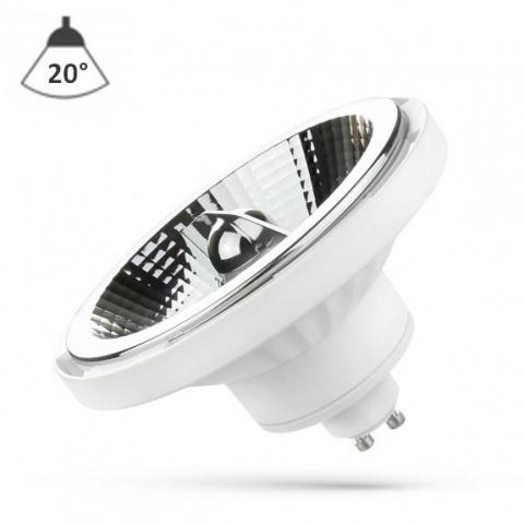 LED žiarovka 12W Teplá biela 230V 20° GU10