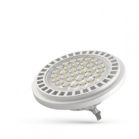 LED žiarovka 11W AR111 G53 12V 24° teplá biela