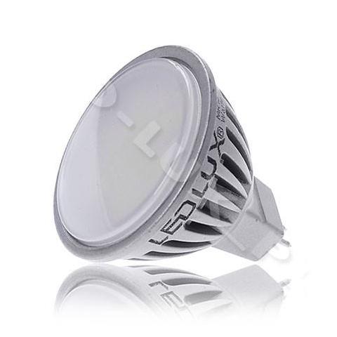 LED žiarovka 6W studená biela SMD2835 12V DC MR16