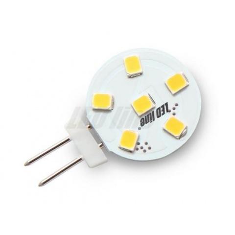 LED žiarovka 1.2W Studená biela, G4