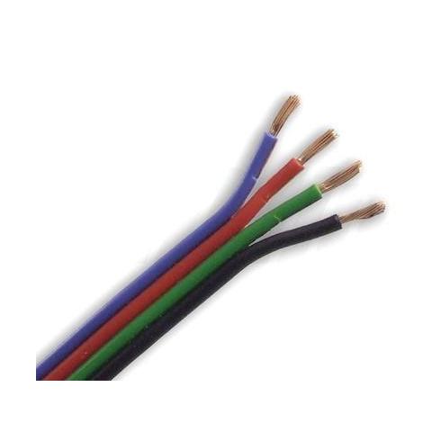 4 žilový kábel 4x0,2mm2 pre RGB pásik