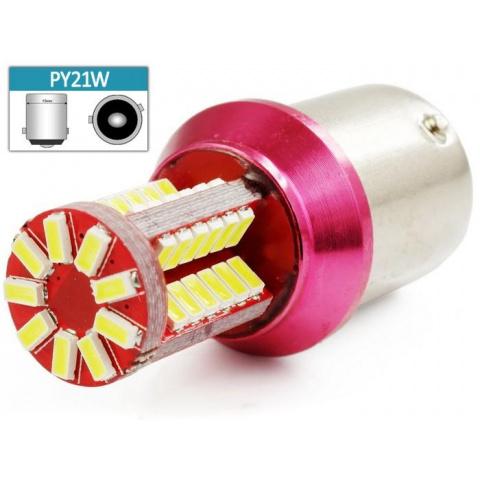LED auto žiarovka 5W BA15S PY21W 57xSMD3014 5W