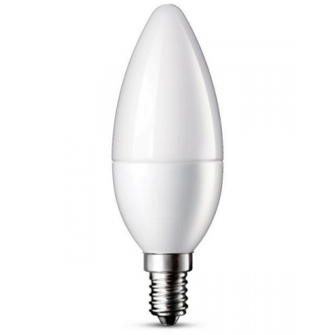 LED žiarovka 7W Studená biela SMD2835 E14