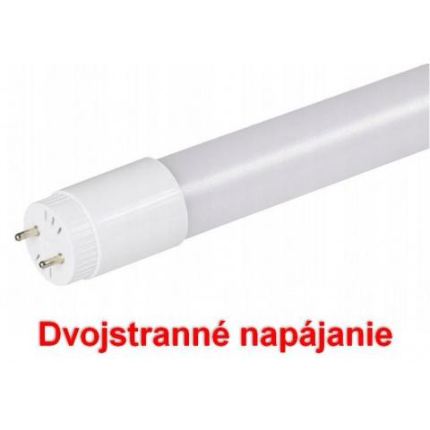 120cm LED Trubica T8 Studená biela - dvojstranné napájanie
