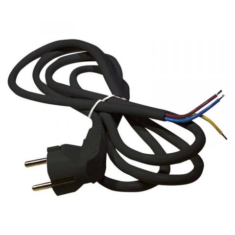 Flexo šnúra PVC 3x1,5mm 2m čierna