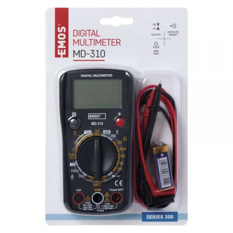Merací prístroj - multimeter MD-310