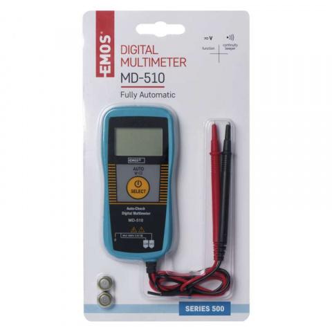 Merací prístroj - multimeter MD-510
