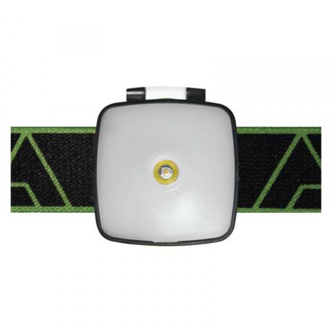 Čelovka nabíjací, 1x CREE LED + SMD 3W