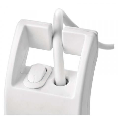 Prepäťová ochrana 900J – 4 zásuvky, 2m, biela