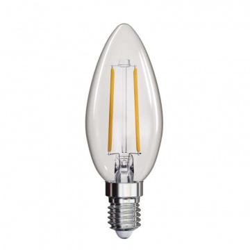 LED žiarovka Filament Candle 2W E14 teplá biela