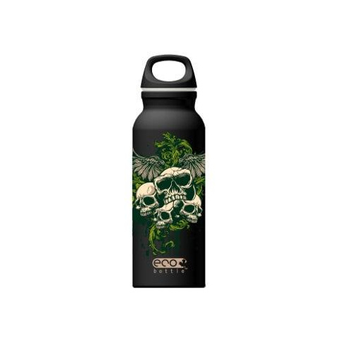 Fľaša Eco Bottle Skull Misery 650ml