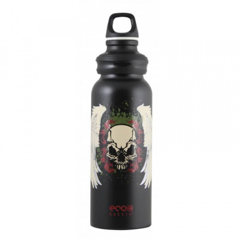 Fľaša Eco Bottle Skull Reloaded 650ml