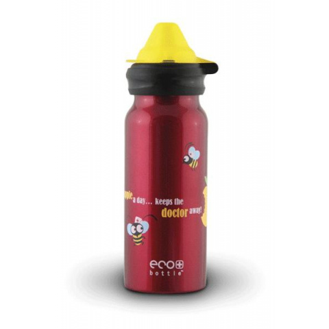 Fľaša Eco Bottle Kids Top Apple Day 400ml