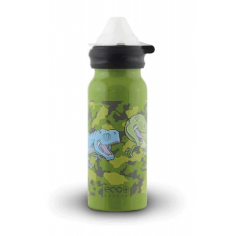 Fľaša Eco Bottle Kids Top Dinosaur 400ml