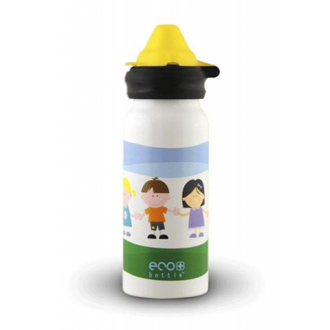 Fľaša Eco Bottle Kids Top Kids World 400ml