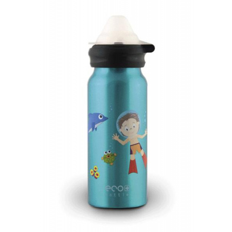 Fľaša Eco Bottle Kids Top Underwater Fun 400ml