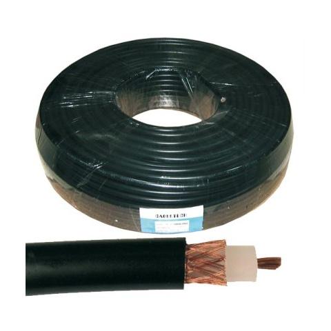 Kábel koaxiálny 1000 50 Ohm 2,4GHz 100m čierny