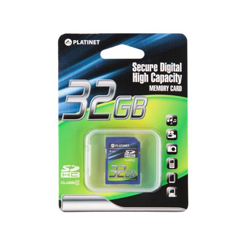 Karta SDHC 32GB class10 PLATINET