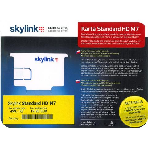 Karta SKYLINK M7 štandard HD