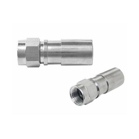 Konektor F RG6U (6,8mm) kompresný