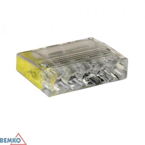 Krabicová svorka (WAGO) 5 x 0,5-2,5 BEMKO