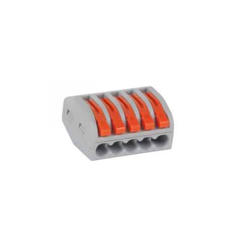 Krabicová svorka s páčkou (WAGO) 5x 0,75-2,5 PCT58105