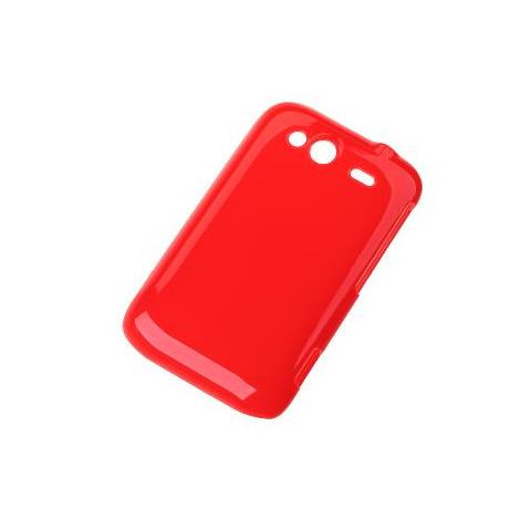 Ochr. kryt zadný pre HTC WILDFIRE S - červený