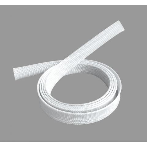 Polyesterový pás na káble A/V 1m/400mm biely