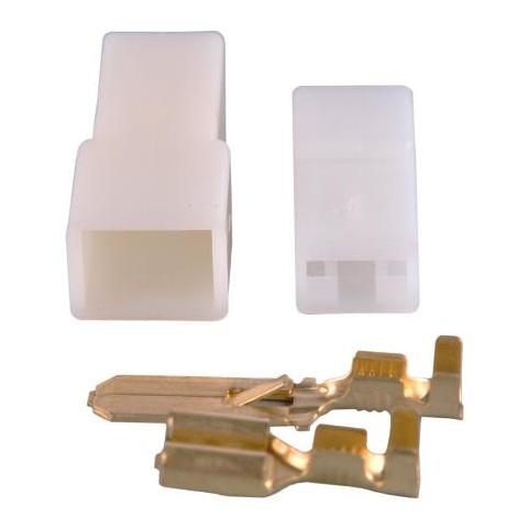 Puzdro konektorov 1x kolík+zásuvka