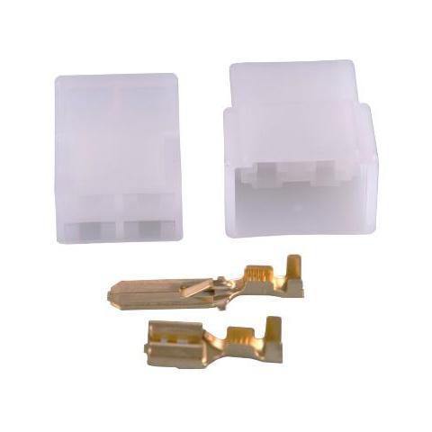Puzdro konektorov 4x kolík+zásuvka