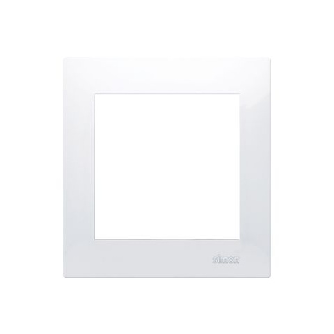 Rámik jednonásobný  Simon 54 premium biely