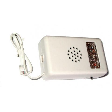 Signalizátor telefónny  červený