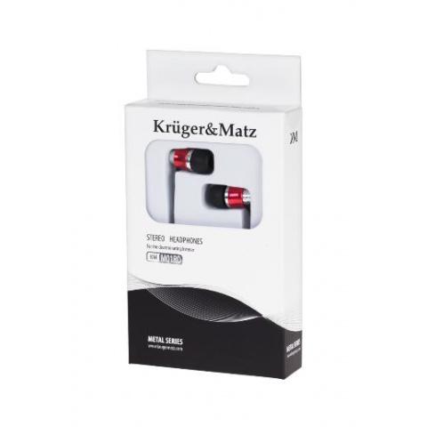 Slúchadlá do uší KM0M01RD Kruger&Matz červené