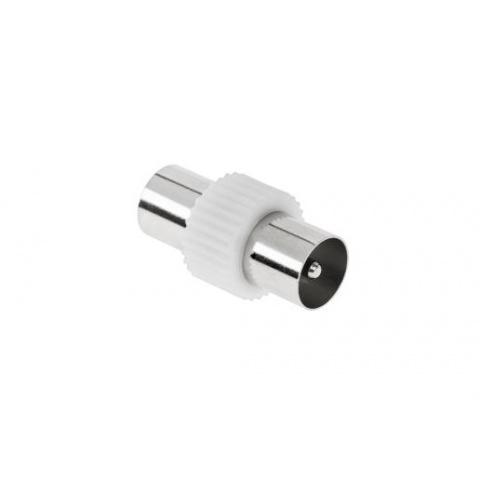 Spojka IEC zástrčka-zástrčka kov/plast