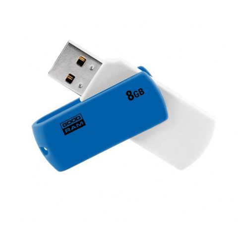 USB kľúč 8GB 2.0 Goodram bielomodrý
