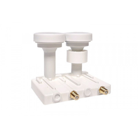 LNB Monoblock TWIN OPTICUM ROBUST 4,3° 0,1dB