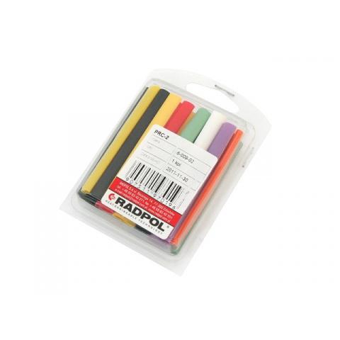 Zmršťovacie bužírky PRC-2 rôzne farby