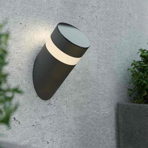 Solárne nástenné svetlo SolarCentre Bath 40 lm teplá biela