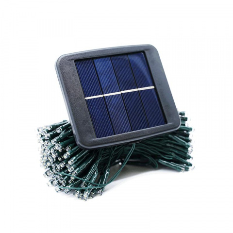 Vianočná SADA 2x Solárna LED reťaz SolarCentre Elan SS9944 200 LED / 20m studená biela