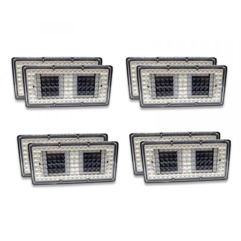 4x Solárne dlaždicové osvetlenie SolarCentre Paverlight (sada 8 svetiel)