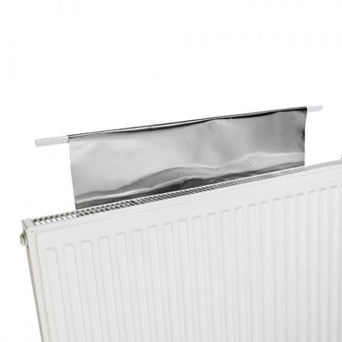 Úsporné radiátorové fólie RADFLEK - 3 ks pre 6 radiátorov