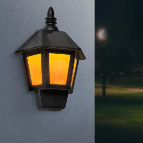 Solárna nástenná lampa Garden of Eden 2 v 1