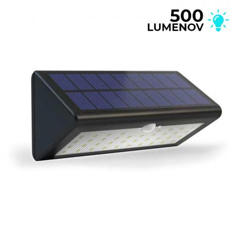 Solárne bezpečnostné osvetlenie SolarCentre Eco Wedge Pro 500 lm s pohybovým senzorom